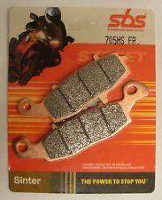 Coppia Pastiglie Anteriori SBS Sinterizzate 705HS uso Strada Kawasaki Suzuki