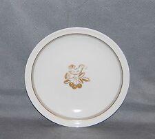 Royal Copenhagen Porcelain Kijafa Wine Gold Grey Band Gold Bird Cherries Plate