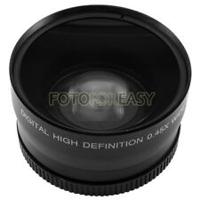 58mm 0.45x Wide Angle & Macro Conversion Lens + Gift