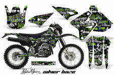 Kawasaki KLX400 Suzuki DRZ400 Graphics Kit Dirt Bike Wrap MX Decals 00-16 SSSH G