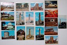 17 Vintage Architectural Postcards/Wrights, Peters, Goff, Elmslie, Sarmiento