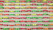 190pcs Simple Style Wholesale Lots Colorful Aluminum Fashion Rings Free AH716