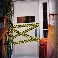 Zombie Scene of Crime Tape Caution Keep Out 6m Halloween Party Decoration