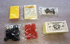 Monopoly 1997 Nascar Replacement Parts Tokens Money Deeds Garage & Race Shops
