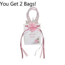 2 Gift Bag Mini Music Boxes Pink bag 'My Special Mom'