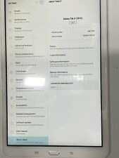 * SAMSUNG GALAXY TAB A 2016, 10.1 INCH, 32GB,white , ANDROID 6.0 TABLET