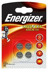 4 x Energizer LR44 / A76 / 13GA Alkaline Blister NEU Batterie - 1 x 4er Blister