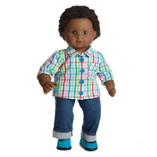 American Girl BT BITTY TWIN DOLL 1B BOY BROWN African American *Imperfect* NEW