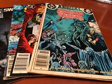 Swamp Thing comic book lot of four Dc 26 32 Annual #2 99 Alan Moore readers