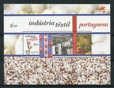 Portugal 2017 MNH Portuguese Textile Industry Cotton 1v M/S Textiles Stamps