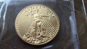 US 2011 Liberty 1oz fine gold 50 Dollar Coin- Uncirculated