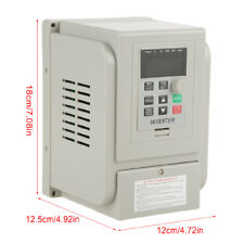 1.5kW 8A AC220V VFD Single-phase Speed Control Variable Frequency Drive Inverter