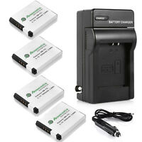 NB-11L Battery & Wall Charger for Canon PowerShot SX410 SX400 IS ELPH 320 340