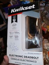 Kwikset Electronic Touchscreen Keyless Deadbolt Door Lock Programmable