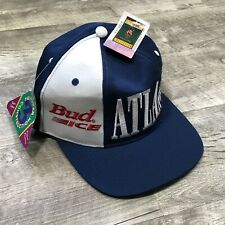 NWT STARTER 1996 Atlanta Olympics Collection BUD ICE Snapback Hat Cap vintage