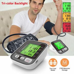NEW USB Digital Upper Arm Blood Pressure Monitor Large Cuff Automatic 99 Memory