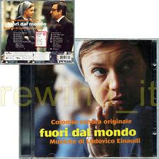 """LUDOVICO EINAUDI """"FUORI DAL MONDO"""" RARO CD OST 1999 - FUORI CATALOGO"""