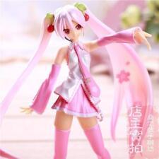 HOT Vocaloid Hatsune Sakura Miku Painted PVC Figure Dolls Anime Dolls 16cm