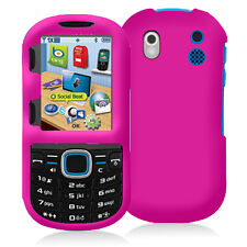 Hot Pink Snap-On Hard Case Cover for Samsung Intensity 2 U460