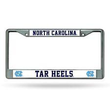North Carolina UNC Tar Heels Chrome License Plate Frame