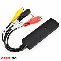 USB 2.0 Video Capture Adapter for Easy to cap Card VHS to DVD Video Capture