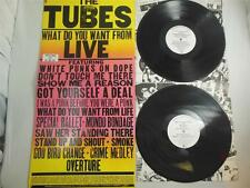 WHITE PUNKS ON DOPE-THE TUBES!  What do You Want from Live PROMO SP-6003 BONUS!