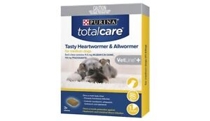 Purina Total Care Tasty Chew Heart Wormer & All Wormer (11-22kg) MEDIUM Dogs