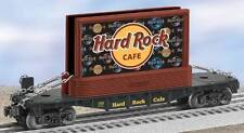 LIONEL #26308 HARD ROCK CAFE FLATCAR WITH BILLBOARD