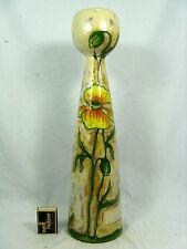 Beautiful / schöne Erhart Schiavon SKK pottery / Keramik vase Italy  41,5 cm