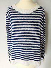 Gestreifte H&M Langarm Damen-Pullover