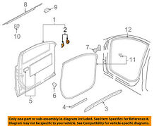 AUDI OEM 07-15 Q7 Front Door-Hinge Plate Left 4L0831135