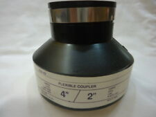 "4"" x 2"" Flexible Coupling TBA, Inc. 256-42 Rubber Coupler"