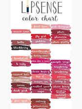 LipSense Colors Retired Distributor Brand New Sealed