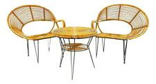 salotto sedie e tavolo bambu janine abraham & dirk jan rol fauteuil chair chaise