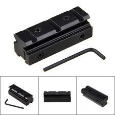 Scope Sight Torch 10mm/11mm to 20mm Picatinny/Weaver Schiene Adapter Montieren