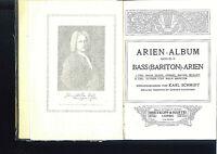 Karl Schmidt : Arien-Album - Bass ( Bariton )- Arien 1.Teil gebunden - alt