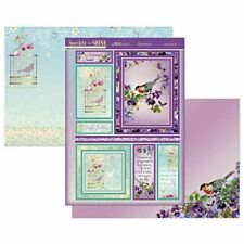 Beautiful Birds Birthday Card Making Kit Paper Crafting Hunkydory Sparkle901 New