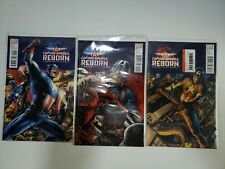 Marvel: Captain America: Reborn #1 #2 #3 VGC
