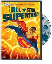 ALL STAR SUPERMAN (DC Comics Animated Movie)   -  DVD - REGION 1 - Sealed