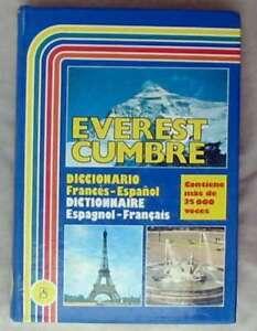 DICCIONARIO FRANCÉS / ESPAÑOL- ESPAÑOL / FRANCÉS - EVEREST CUMBRE 1999 - VER