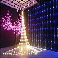 3*3M 320LED Waterfall LED Window Curtain Lights String Fairy Light Wedding Xmas