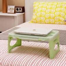 Portable Folding Lap Desk Kids Reading Snack Homework Tray Car Bed Table Storage