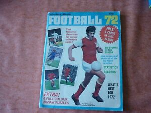 Top Sellers Football 72 Album 1972 orginally printed by panini