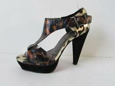 Animal Print Strappy, Ankle Straps NEXT Heels for Women
