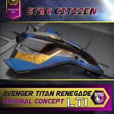 Star Citizen - Avenger Titan Renegade LTI **ORIGINAL CONCEPT**