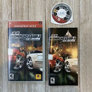 Midnight Club 3 DUB Edition (Sony PlayStation Portable 2005) Used Complete PSP