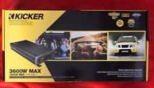 KICKER 46CXA1800.1 CAR MONO 1CH BLOCK CLASS-D CX SERIES AMPLIFIER AMP CXA1800.1