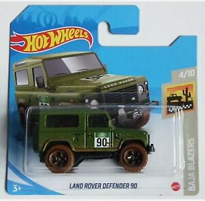 Hot Wheels 2021. Land Rover Defender 90. New Collectable Toy Model Car.