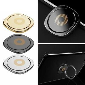 Universal 360 Finger Grip Metal Ring Stand Holder Bracket Deco Phone For O7M5
