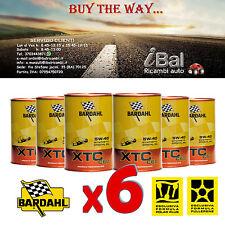 OLIO MOTORE XTC C60 5W-40 BARDAHL 6L (4+2 OMAGGIO) TAGLIANDO AUTO - 334040
